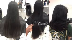 layered haircut after locks of love donation thick indian hair