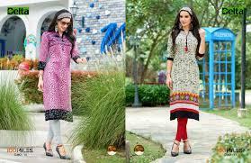 100 miles delta cotton casual wear kurti catalog wholesale online