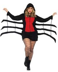 women u0027s cozy black widow costume candy apple costumes bee