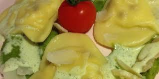 cuisiner les ravioles ravioles coeur ricotta tomates séchées crème de petits pois