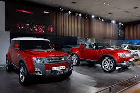 land rover dc100 interior land rover dc100 concepts gain a red hue for new delhi auto expo