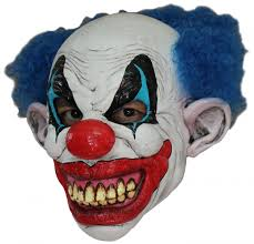 evil clown halloween mask scary clown mask for masks and fancy dress costumes vegaoo