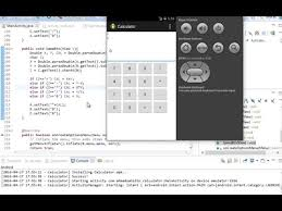 tutorial android using eclipse kalkulator tutorial with eclipse youtube
