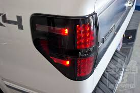 2016 f150 led tail lights 2009 2014 f150 raptor recon led tail lights smoked 264168bk