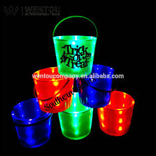 personalized halloween buckets wholesale personalized light up halloween bucket buy light up