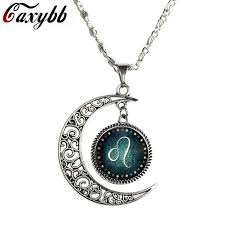 accessories chain necklace images Caxybb pisces aries leo capricorn 12 constellation necklace jpg