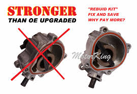 rebuild kit for vacuum pump jetta beetle golf passat tt 2 5 rk1032