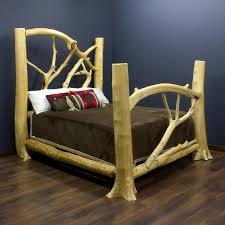 Cheap Log Bed Frames Some Tips On Designing Log Beds Alternative Mindset