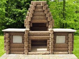 how to build a brick outdoor fireplace home fireplaces firepits