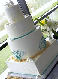 beach theme wedding cake photos destination wedding details