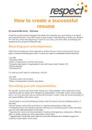 Examples Of Great Resumes by 28 Examples Of Successful Resumes How To Build A Successful