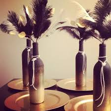 Ideas For Centerpieces For Birthday Party by Roaring 20s Centerpieces Perfect For A Great Gatsby Birthday