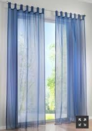 Sheer Blue Curtains 1 Pair Sheer Curtain Voile Window Curtains Navy Blue 2 X 145 X 245