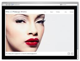 makeup artists websites inspirational beauty related wix websites