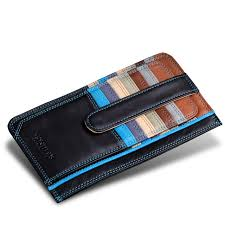 Business Card Case Leather Free Shipping 2017 Luxury Credit Card Holder Leather Strap Buckle