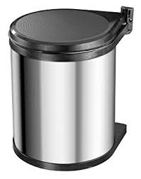 hailo poubelle cuisine hailo poubelle encastrable 15 l gris amazon fr cuisine maison