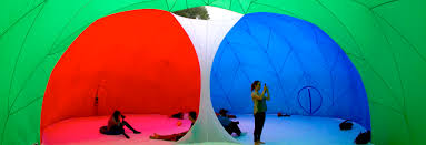 Color Spectrum Inflatable Rgbubble Brings The Rgb Color Spectrum Of Your Digital