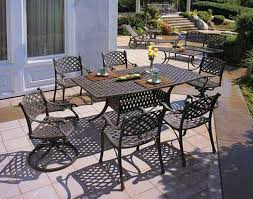 Aluminum Patio Tables Great Cast Aluminum Patio Furniture Outdoor Remodel Suggestion Get