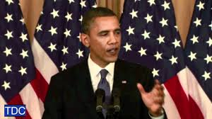 Obama No American Flag Obama Calls For 1967 Borders For Israeli Palestinian States Youtube