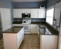 White Cabinets Brown Granite by Desert Brown Granite Great Contrast With White Cabinets