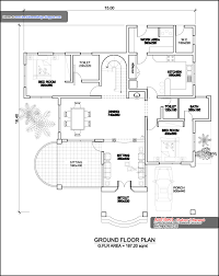 ground floor plans kerala home plan elevation and floor plan 3236 sq ft home