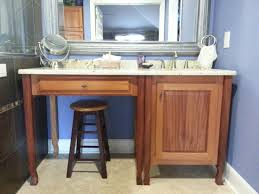 master bath vanity makeup table and linen closet by pmelchman