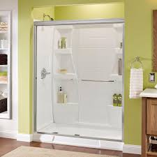 shower doors showers the home depot simplicity