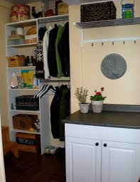 Laundry Room Shelves And Storage by Designdreams By Anne Mudroom Laundry Room Mini Tour