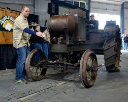 vintage lamborghini tractor vintage tractors farm u0027relics u0027 bring 2 million in sales at mecum