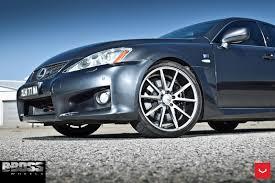 lexus is vossen lexus is f looks underrated even on custom wheels