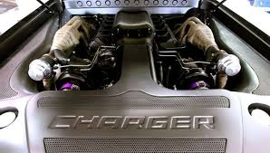 turbo dodge charger v10 powered 1300hp turbo 68 charger nicknamed sliced is