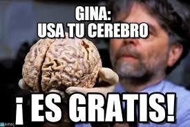 Gina Meme - gina usa tu cerebro falta cerebro meme on memegen