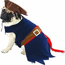 Halloween Dog Costume Amazon Jack Sparrow Halloween Pet Costume Medium 12 17 Lbs