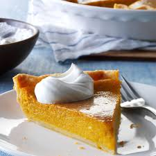 Crustless Pumpkin Pie by Squash Custard Pie Recipe Taste Of Home