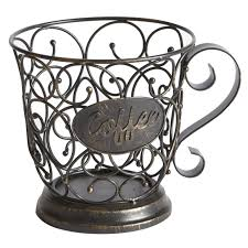 Coffee Themed Kitchen Canisters Villa Coffee Mug Decor Pier 1 Imports Kitchen Design