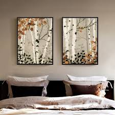 Canvas Painting For Home Decoration by Online Get Cheap Birch Wall Art Aliexpress Com Alibaba Group