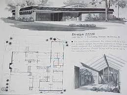 1950s Ranch House Plans Pretty Ideas 4 Atomic Ranch House Plans Pictures 1950s Homes Mid