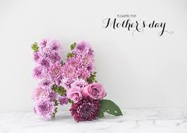 Mothers Day Flowers Spring Floral Series Floral Letter For Mother U0027s Day Earnest