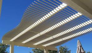 System Awnings Louvered Pergola Covers Shade And Shutter Systems Inc New