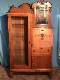 antique oak secretary desk with hutch 577 best antiques images on