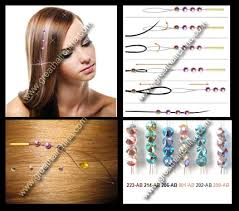hair crystals hair bling extension hair bling extension