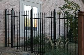 ornamental iron fence options bluebonnent fences