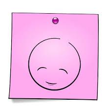 Mondspeer Deviantart - post it smiley the innocent by mondspeer on deviantart