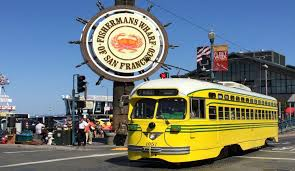 San Francisco Big Bus Tour Map by Bay City Guide San Francisco Visitors Guide Tours Maps Events