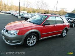 impreza subaru 2006 2006 subaru impreza outback sport wagon in san remo red photo 16