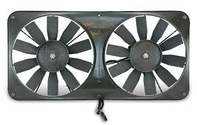 flex a lite electric fan kit flex a lite automotive compact reversible dual 11 inch electric fan