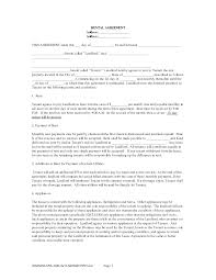 Free Residential Lease Agreement Templates Stunning Sample House Lease Agreement Photos Office Worker