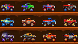 monster truck race videos car driving for kids truck driver monster truck go racing truck