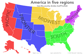 State By State Map Of Usa by Five Top Png