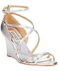 Wedding Shoes Macys Badgley Mischka Milly Evening Wedges Evening U0026 Bridal Shoes